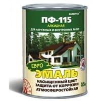 Эмаль FARBITEX ПФ-115 шоколадная 0,9 кг