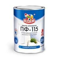 Эмаль OLECOLOR ПФ-115 ярко-зеленый 0,8кг