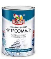 Эмаль OLECOLOR НЦ-132 черная 0,7кг