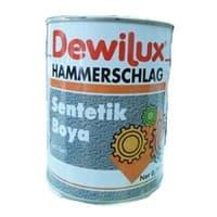 Эмаль молотковая DEWILUX темно-коричневая, 2,5л 6017