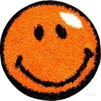 Ковры KARAT Fantasy Smile 0,67*0,67 12003/160 овальный