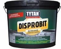Мастика TYTAN DISPROBIT битумно-каучуковая дисперсионная для гидроизоляции и ремонта крыш 20кг