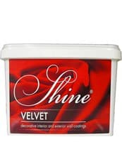 Штукатурка декоративная SHINE Velvet 17 2кг