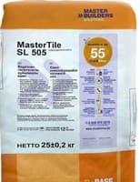Раствор MasterTile самовыравнив.на цементной основе SL-505 25кг