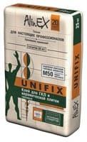 Клей ALINEX для гипсокартона УНИФИКС 25 кг