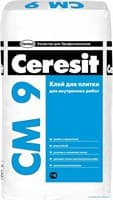 Клей CERESIT на цементной основе СМ9 STANDARD 25кг
