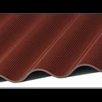 Шифер СВ 40/150 8 волновой коричневый 7TEWA40-150-52MM8BR