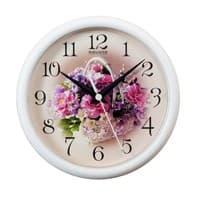Часы настенные САЛЮТ ПЕ-Б7-219 Белая корзинка