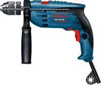 Дрель ударная BOSCH GSB 1600 RE Professional 710Вт 0601218121
