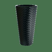 Горшок цветочный MATUBA SLIM антрацит DPMT300-S433