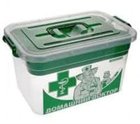 Контейнер для аптечки с вкладышем Домашний доктор 80903