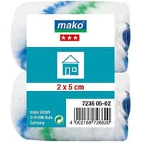 Валик MAKO сменный полиакрил 5см для рукоятки 6мм, 2 шт в пакете 723605-02