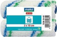 Валик MAKO сменный полиэстер (для рукоятки 6мм) 10см 2 шт в пакете 723610-02