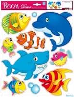 Элемент декоративный ROOM DECOR Веселые рыбки № 1, REA 2715 A