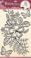 Элемент декоративный ROOM DECOR Китайская роза POA 6818