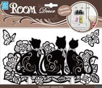 Элемент декоративный ROOM DECOR Крючок Мартовские коты SHA 0801
