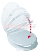 Сиденье для унитаза дюропл. микролифт 20719135