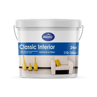 Краска ALANTEX водно-дисперсионная Classic Interior 3,5 кг
