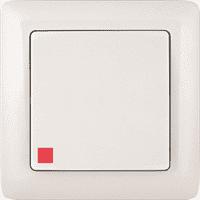 Выключатель WESSEN XIT VS16-135-B скр.уст. 1-кл с индикатором (250В,6А)